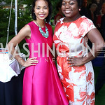 Kate Greer, White House Social Secretary Deesha Dyer. Photo by Tony Powell. The Queen
