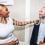 NeNe Leakes, Daniel Mandell. Photo by Alfredo Flores. Thomson Reuters Correspondents