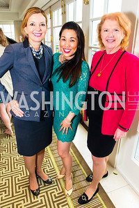 Marie Royce, Elizabeth Elizabeth Heng, Anne Sullivan. Photo by Alfredo Flores. Thomson Reuters Correspondents' Brunch‏. Hay Adams Hotel. May 1, 2016