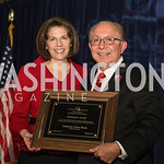 Senator Catherine Cortez Masto, Mickey Ibarra. Photo by Eduardo Salas. Tribute to Mayors Inaugural Unity Dinner. Hyatt Regency Capitol Hill. January 18, 2017