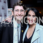 Ben Droz, Catherine Trifiletti. Photo by Tony Powell. WL & Cafe Milano 25th Anniversary. December 5, 2016
