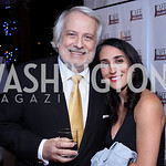Philippe Auguin, Catherine Trifiletti. Photo by Tony Powell. WL & Cafe Milano 25th Anniversary. December 5, 2016