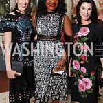 Natalie Jones, Aba Kwawu, Tracy Bernstein. Photo by Tony Powell. Alliance Francaise. Residence of France. April 4, 2017