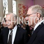 Robert Heggestad, Charles DiBona. Photo by Tony Powell. Alliance Francaise. Residence of France. April 4, 2017