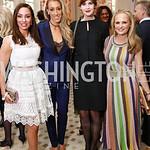 Kristin Cecchi, Kristen Lund, Stephanie Green, Jamie Dorros. Photo by Tony Powell. Alliance Francaise. Residence of France. April 4, 2017
