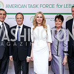 Rep. Darrell Issa, Kuwait Ambassador Salem Al-Sabah and Sheika Rima Al-Sabah, Diane Jones and General Jim Jones. Photo by Tony Powell. 2017 ATFL Gala Awards Dinner. Fairmont Hotel. March 22, ...