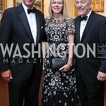 Larry Fisher, DeAnn Marshall, Dr. Kurt Newman. Photo by Tony Powell. 2017 Atlantic Council Distinguished Leadership Awards. Ritz Carlton. June 5, 2017