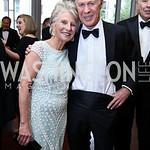 Jane Harman, Bob Dickie. Photo by Tony Powell. 2017 Atlantic Council Distinguished Leadership Awards. Ritz Carlton. June 5, 2017