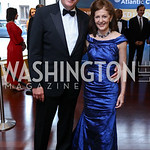 Fred Kempe and Pamela Meyer. Photo by Tony Powell. 2017 Atlantic Council Distinguished Leadership Awards. Ritz Carlton. June 5, 2017