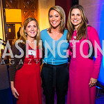 Simone Rathle, Brooke Baldwin, Nada Stiratt.  Photo by Alfredo Flores. 2017 Blue Star Neighbors Celebration. U.S. Chambers of Commerce. March 22, 2017