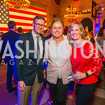 Ryan Hudnall, Penny Bolden, Shiela Stevens.. Photo by Alfredo Flores. 2017 Blue Star Neighbors Celebration. U.S. Chambers of Commerce. March 22, 2017