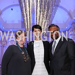 Carol Wilson, Ahnna Smith, Abraham Thomas. Photo by Tony Powell. 2017 DC Ed Fund 10 Year Anniversary Dinner. Renwick Gallery. October 5, 2017