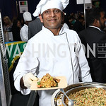 Sri Lanka Chef Anuradha Wijesinghe. Photo by Tony Powell. 2017 Embassy Chefs Challenge. Reagan Building. May 24, 2017