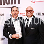 JT Taylor, Michael Powell. Photo by Tony Powell. 2017 Fight Night. Washington Hilton. November 2, 2017
