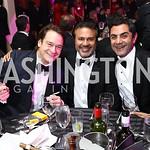 Brad Nierenberg, Chuck Ghoorah, Bob Ghafouri. Photo by Tony Powell. 2017 Fight Night. Washington Hilton. November 2, 2017