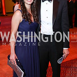 Adriana Smith, Tom Longano. Photo by Tony Powell. 2017 Harman Center Gala. Building Museum. October 15, 2017
