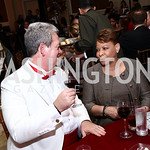 Sean Ballington, Linda Gooden. Photo by Tony Powell. 2017 Heart Ball. Mandarin Oriental. February 25, 2017
