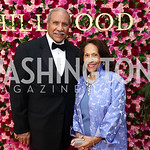 Togo and Gail West. Photo by Tony Powell. 2017 Hillwood Gala. June 6, 2017
