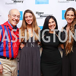 Kurt Newman, Gal Halfon, Laurie Strongin, Rinat Ron. Photo by Tony Powell. 2017 Hope for Henry. Pinstripes. October 3, 2017