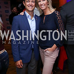 Mike Manatos and Laura Evans. Photo by Tony Powell. 2017 Hope for Henry. Pinstripes. October 3, 2017