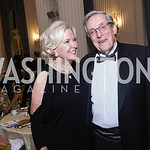 Sandy and Bill Brock. Photo by Tony Powell. 2017 Innocents at Risk Gala. OAS. April 26, 2017