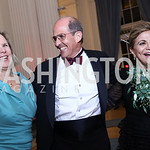 Connie Carter, Gordon Dale, Annie Totah. Photo by Tony Powell. 2017 Innocents at Risk Gala. OAS. April 26, 2017