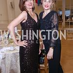 Mitra Lore, Alessandra Gelmi. Photo by Tony Powell. 2017 Innocents at Risk Gala. OAS. April 26, 2017