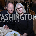 Father Stuart Kenworthy and Fran Kenworthy. Photo by Tony Powell. 2017 Innocents at Risk Gala. OAS. April 26, 2017