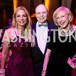 Martha Boneta, Bill Detty, Lola Reinsch. Photo by Tony Powell. 2017 JDRF Gala. Building Museum. November 4, 2017