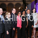 Rep. Roger Wicker and Gayle Wicker, Sen. Gary Peters, MOD President Stacey Stewart, Vivian and Rep. Sanford Bishop, Caroline and Rep. Robert Aderholt. Photo by Tony Powell. 2017 March of Dim ...