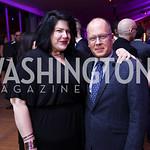 Zara Korutz, Scott Bushnell. Photo by Tony Powell. 2017 Mark Twain Prize. Kennedy Center. October 22, 2017