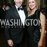 Matt and Abby Echols. Photo by Tony Powell. 2017 Meridian Ball. October 20, 2017