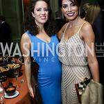 Sarah Aburdene, Samar Langhorne. Photo by Tony Powell. 2017 Meridian Ball. October 20, 2017