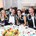 Dana Jackson, Speaker Paul Ryan, Dina Powell, Glenn Youngkin. Photo by Tony Powell. 2017 Meridian Ball. October 20, 2017