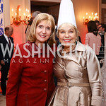 Paula Dobriansky, Francesca Craig. Photo by Tony Powell. 2017 Michelin Guide. Residence of France. October 17, 2017