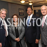 Barry Douglas,  Shaista Mahmood, Ambassador Ray Mahmood and Tony C Foster. Photo by Jane Pennewell.  2017 National Dialogue Awards.  National Press Club. November 16, 2017.