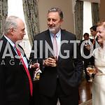 William Reinsch, Netherlands Amb. Henne Schuwer, Ireland Amb. Anne Anderson. Photo by Tony Powell. Netherlands Tulip Reception. April 5, 2017