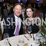 Sen. Evan Bayh, Vickie Kennedy. Photo by Tony Powell. 2017 Capital Caring Gala. MGM National Harbor. November 11, 2017