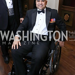 Cpl. Joshua Himan. Photo by Tony Powell. 2017 PenFed Night of Heroes Gala. Trump Hotel. May 4, 2017