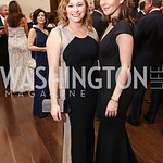 Caitlin Hicks, Nadia Saghafi. Photo by Tony Powell. 2017 PenFed Night of Heroes Gala. Trump Hotel. May 4, 2017