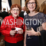 Claudia Hume, Cathy Cody. Photo by Tony Powell. 2017 PenFed Night of Heroes Gala. Trump Hotel. May 4, 2017