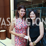 Stephanie Davari, Anne Kim-Dannibale. Photo by Tony Powell. Rolex Baselworld. Tysons Galleria Liljenquist & Beckstead. May 17, 2017