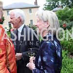 Harry and Cathy Teter. Photo by Tony Powell. 2017 Tudor Place Garden Party. May 24, 2017