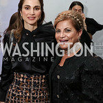 Global Trailblazer Award Honoree Her Majesty Queen Rania Al Abdullah of Jordan, Annie Totah. Photo by Tony Powell. Vital Voices 2017 Global Leadership Awards. Kennedy Center. March 8, 2017
