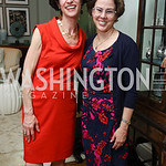 Washington Post Senior National Affairs Correspondent Juliet Eilperin, Former White House Domestic Policy Council Director Cecilia Munoz. Photo by Tony Powell. WHCD Women in Journalism. Ditt ...