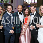 Meagan McKecnie, Corey Landolt, Ryan Michael Hayes, Kari and Frank Doorley, Katie Munroe. Photo by Tony Powell. 2017 Washington Ballet