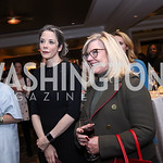 Heather Podesta, Gloria Dittus. Photo by Tony Powell. 2017 Women Rule Summit Kickoff. Four Seasons. December 4, 2017