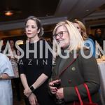 Heather Podesta, Gloria Dittus. Photo by Tony Powell. 2017 Women Rule Summit Kickoff. Four Seasons. December 4, 2017