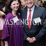National Geographic VP of Strategic Communications Claire Jones, National Geographic President & CEO Gary Knell. Photo by Tony Powell. 2017 World Affairs Global Education Gala. Ritz Carlton. ...