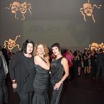 Zara Korutz, Truly Herbert, Morgann Rose, Atlas Performing Arts Center, Destination Atlas Party for a Purpose Gala, October 6, 2017. Photo by Ben Droz.